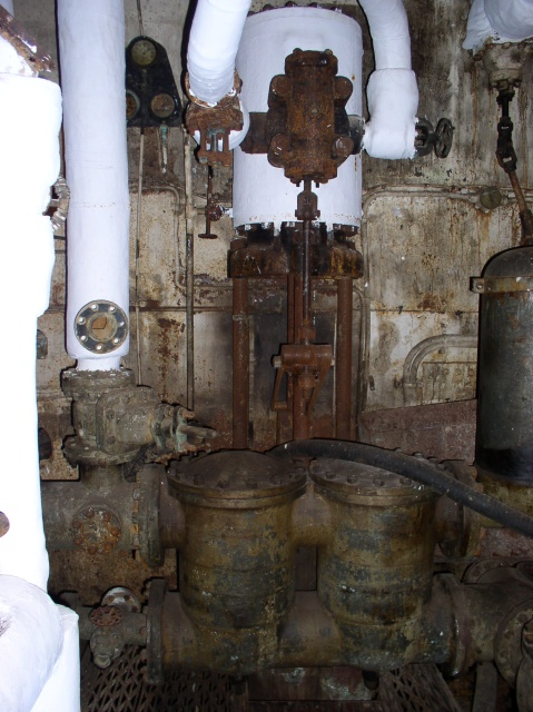 Titanic Engine Room Coal: 050506