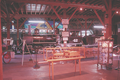 Panoramic view of the D&S Durango Museum; Erik Ledbetter
